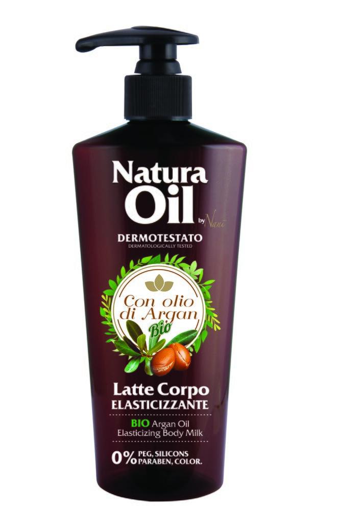 Tělové mléko s bio arganovým olejem
