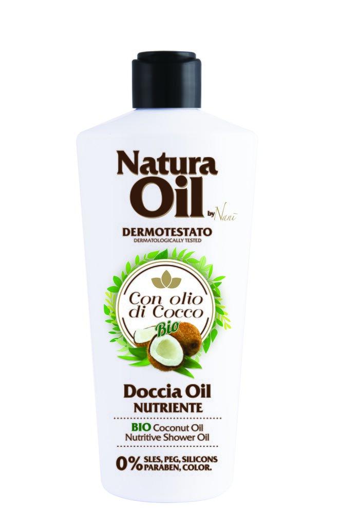 Sprchový olej s bio kokosovým olejem