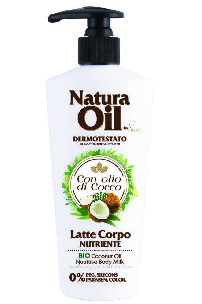 Tělové mléko s bio kokosovým olejem