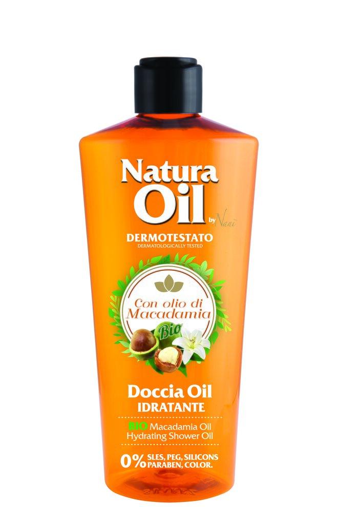 Sprchový olej s bio makadamiovým olejem