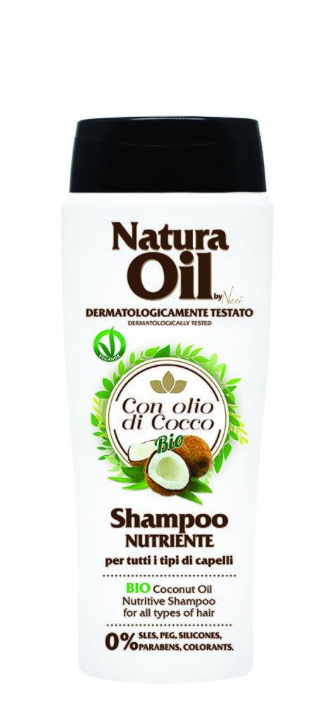 Šampón na vlasy s bio kokosovým olejem