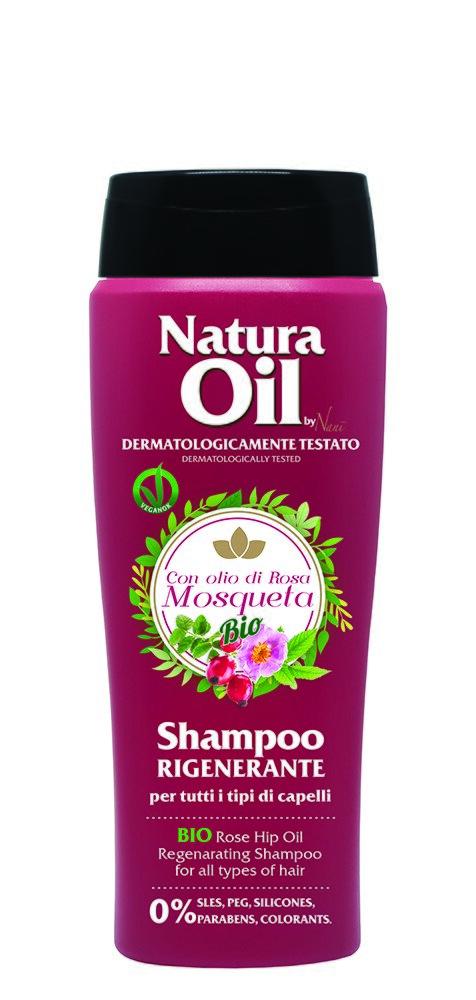 Šampón na vlasy s bio šípkovým olejem