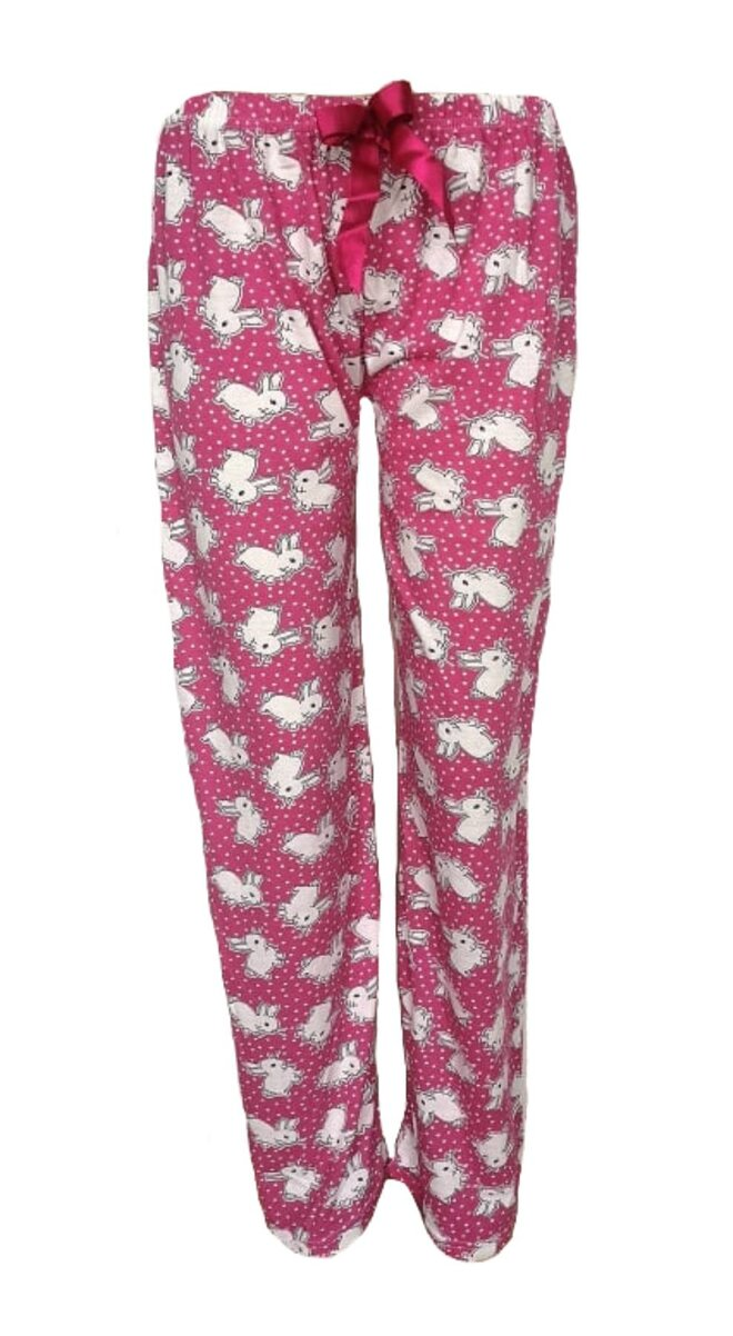 Dámské pyžamové kalhoty Králíček