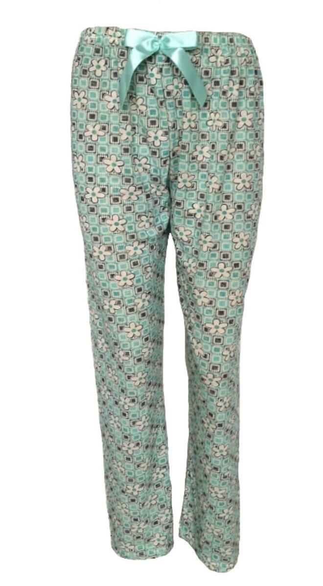 Dámské pyžamové kalhoty Kytičky