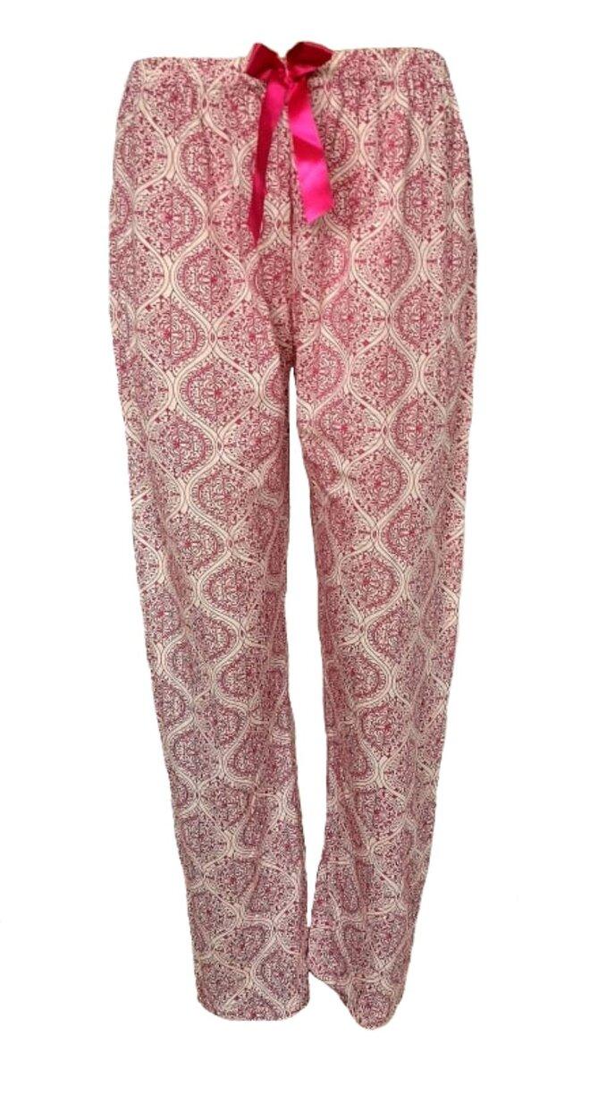 Dámské pyžamové kalhoty Červené