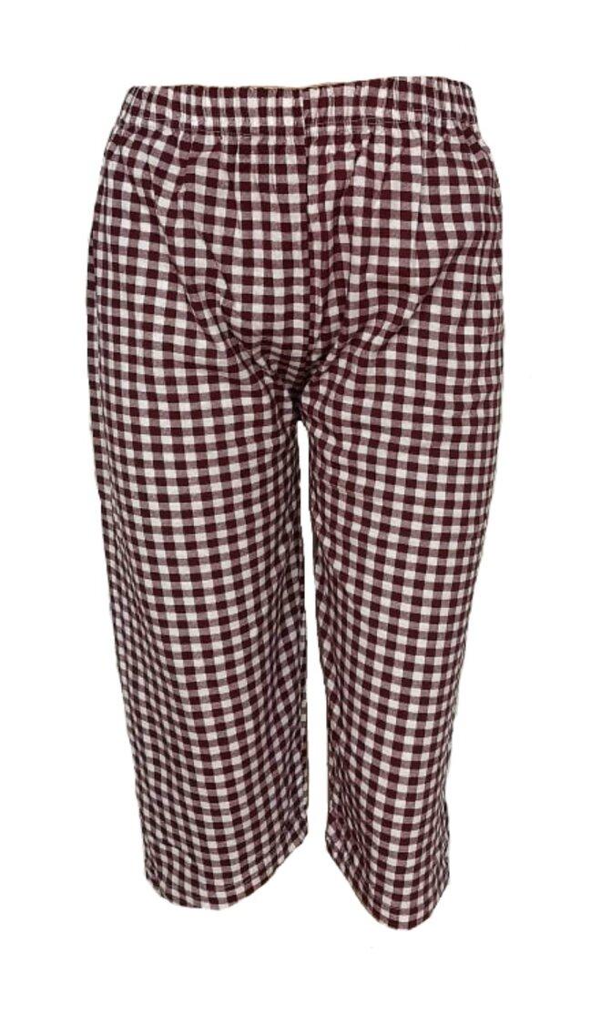 Dámské 3/4 pyžamové kalhoty Kostičky