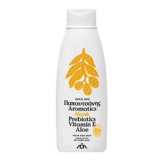 Řecký veganský sprchový gel Musk, 650 ml