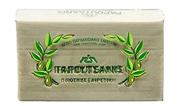 Tradiční přírodní olivové mýdlo zelené, 250 g