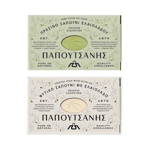 Balíček 2 tradičních přírodních olivových mýdel