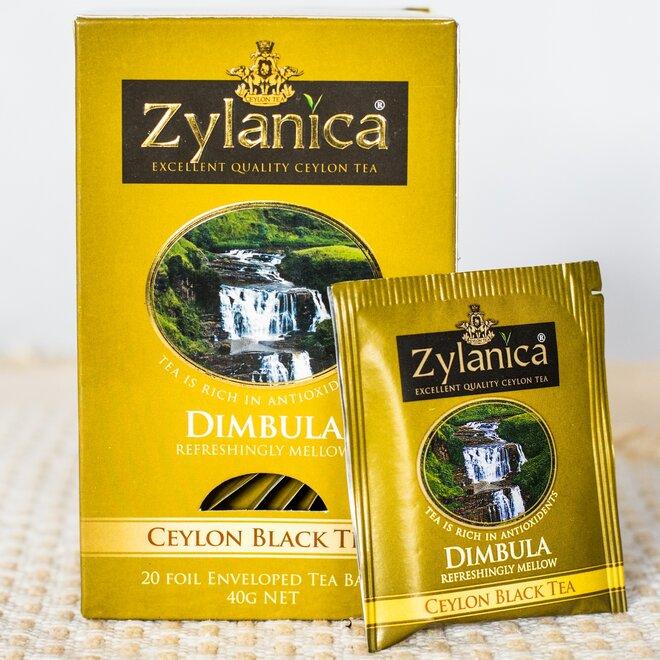 Černý čaj Dimbula - sáčkový, 20× 2 g