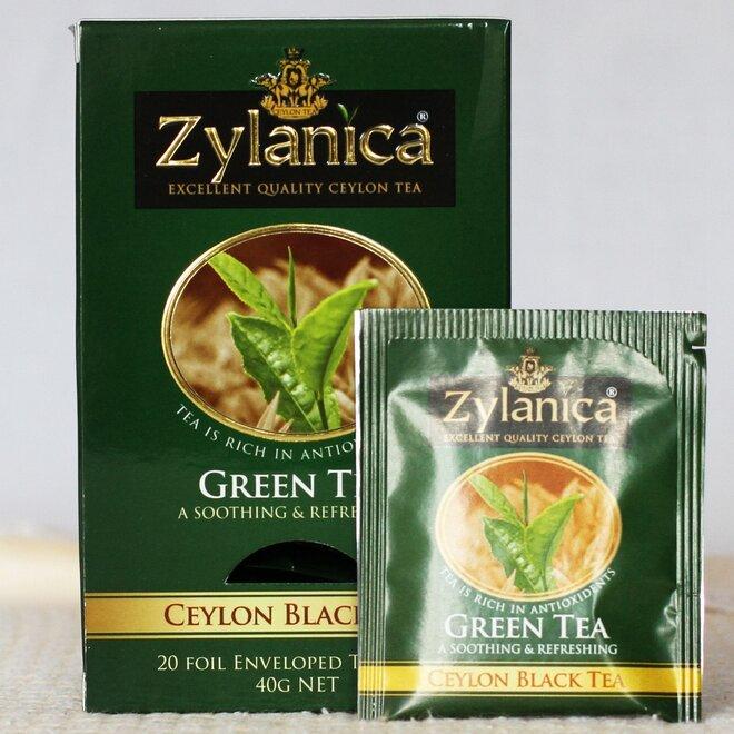 Zelený čaj - sáčkový, 20× 2 g