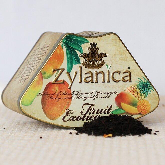 Černý čaj s mangem a ananasem - sypaný, 100 g