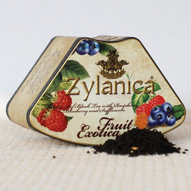 Černý čaj se malinou a borůvkou - sypaný, 100 g