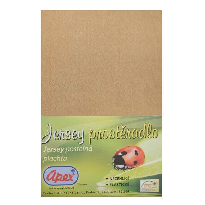 Bavlněné Jersey prostěradlo