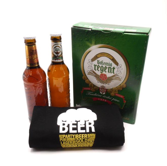 2 piva + tričko Pivo