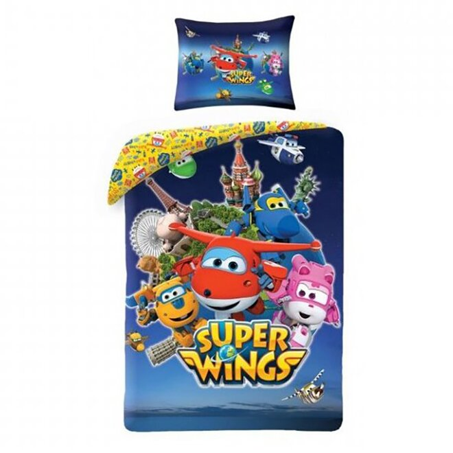 Povlečení Super Wings 5508BL