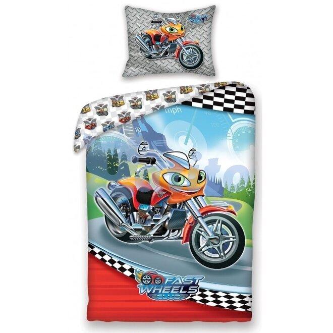 Povlečení Fast Wheels Club MOTORKA