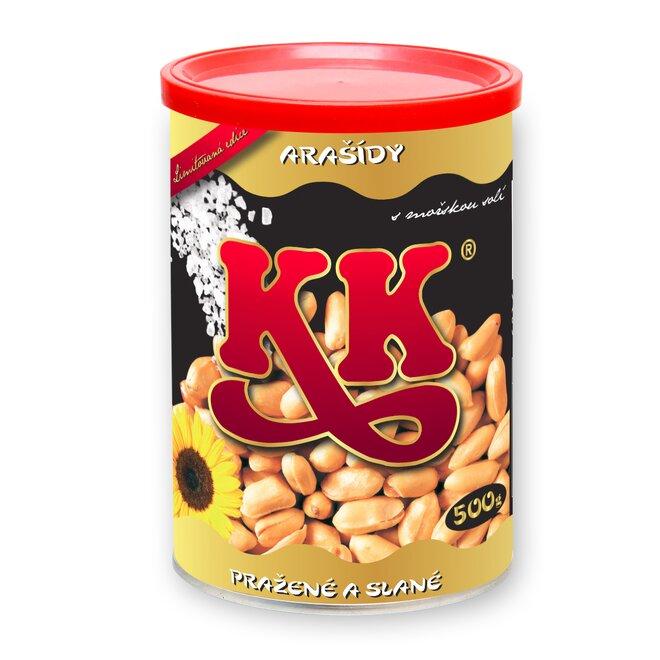 KK pražené arašídy solené, 500 g