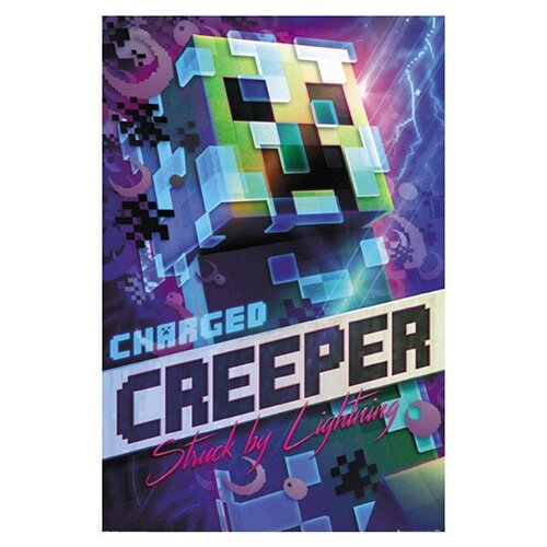 Plakát Charged Creeper