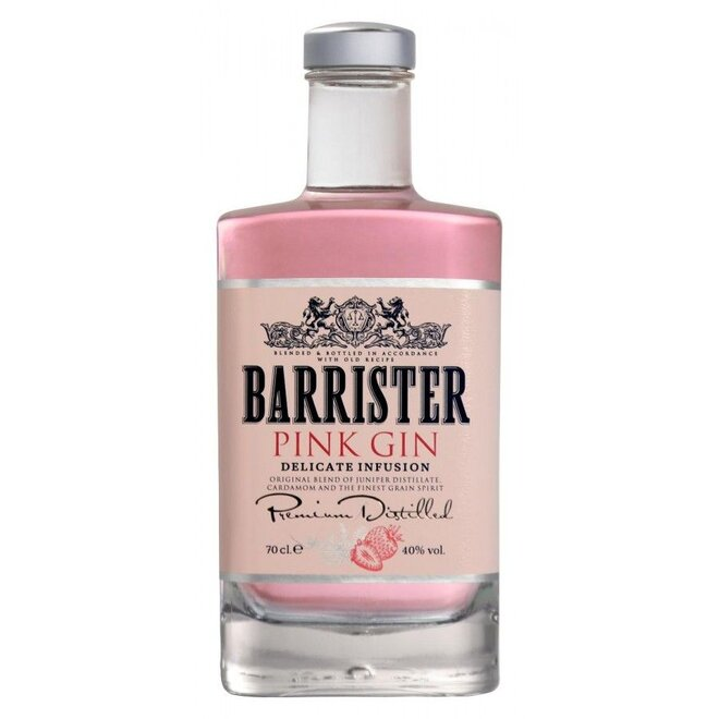Barrister Pink Gin (0,7 l; 40 %)