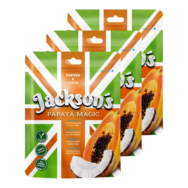 3× Jackson's Papaya Magic & Coco