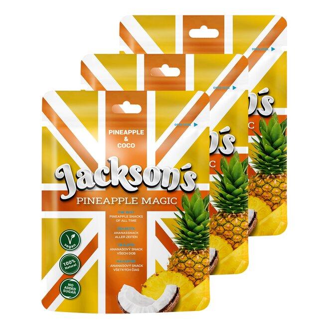 3× Jackson's Pineapple Magic & Coco