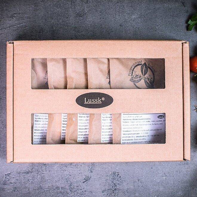 Dárková krabice koření Lussk I.