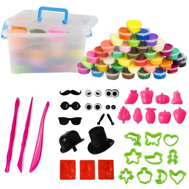 Inteligentní plastelína, 36 barev s příslušenstvím