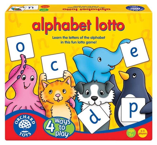 Abeceda – Lotto, 4 hry v 1