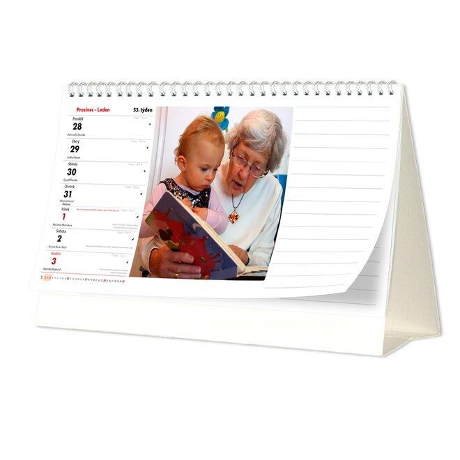 Stolní kalendář (týdenní)