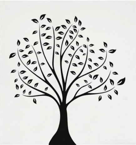 Černobílý strom