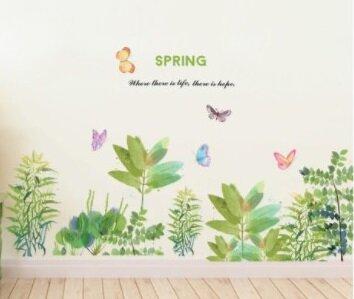 Jarní zelené zátiší