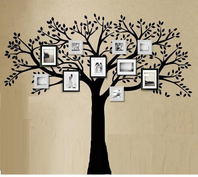 Strom XXL s rámečky na fotky