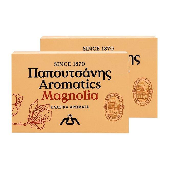 2x řecké aromatické mýdlo - magnolia, 125 g
