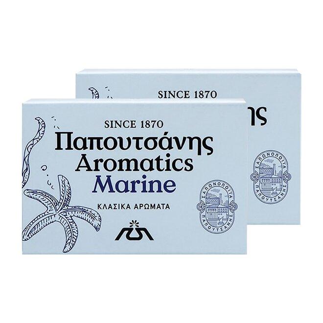 2x řecké aromatické mýdlo - Marine, 125 g