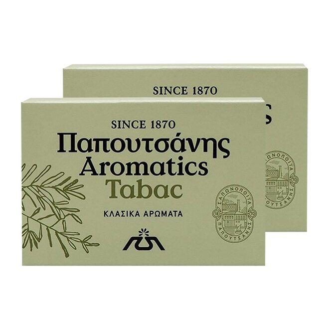 2x řecké aromatické mýdlo - Tabac, 125 g