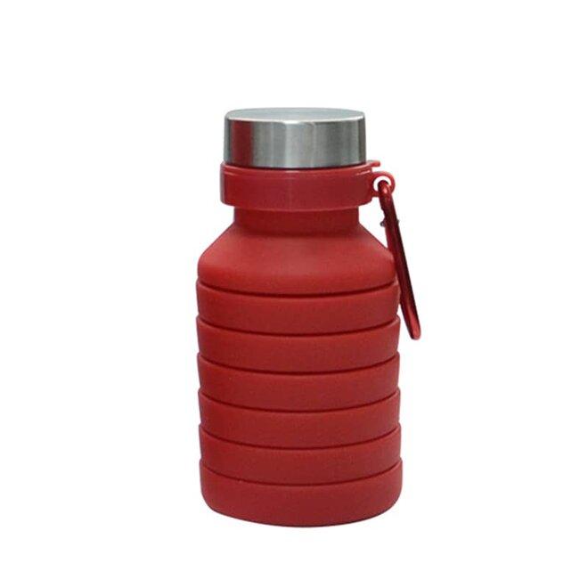Červená skládací láhev