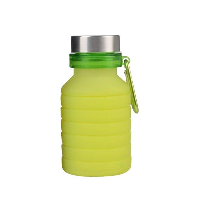 Zelená skládací láhev