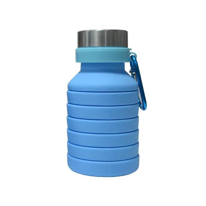 Modrá skládací láhev