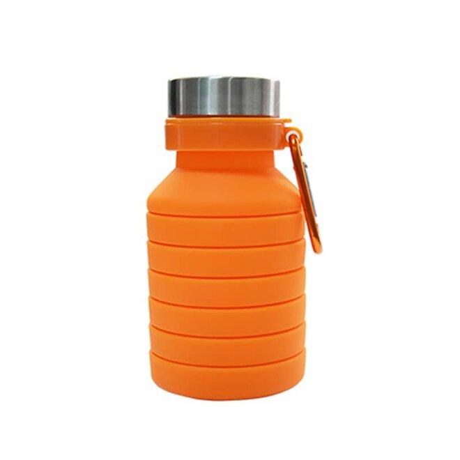 Oranžová skládací láhev