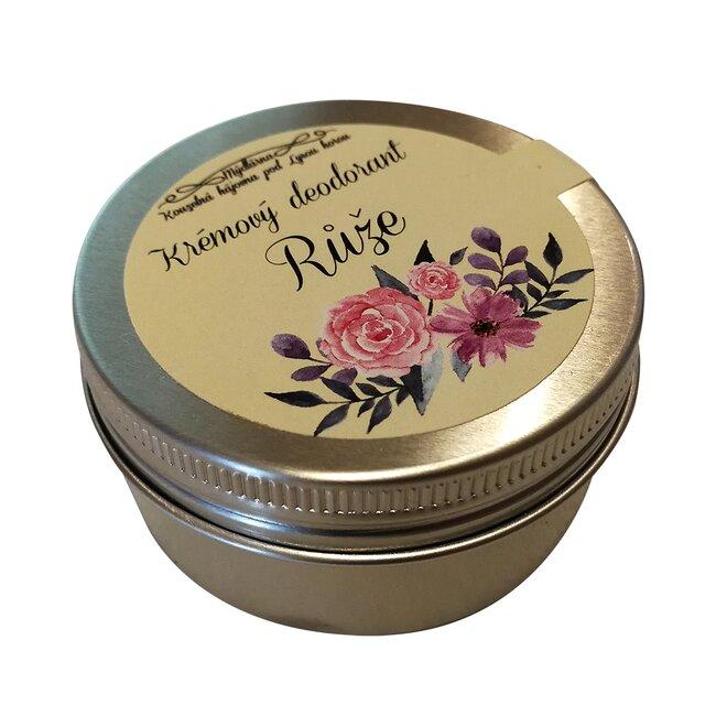 Krémový deodorant Růže