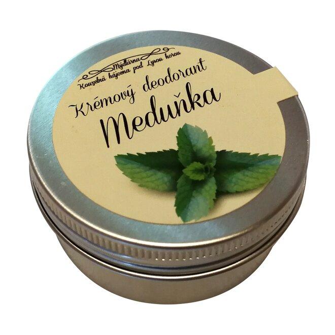 Krémový deodorant Meduňka