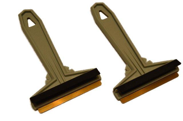 2× pistáciová škrabka Murska na autosklo