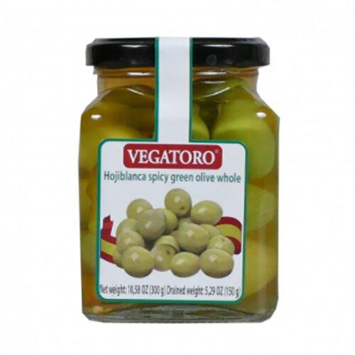 Olivy Hojiblanca s peckou v pikantním nálevu, 300 g