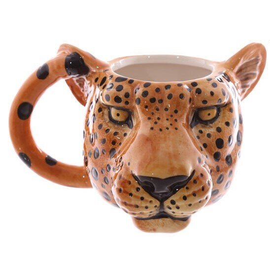 Hrnek – Leopard (hlava)