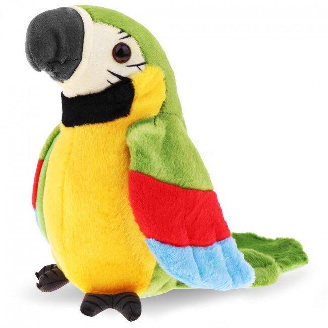 Mluvící papoušek – zelený