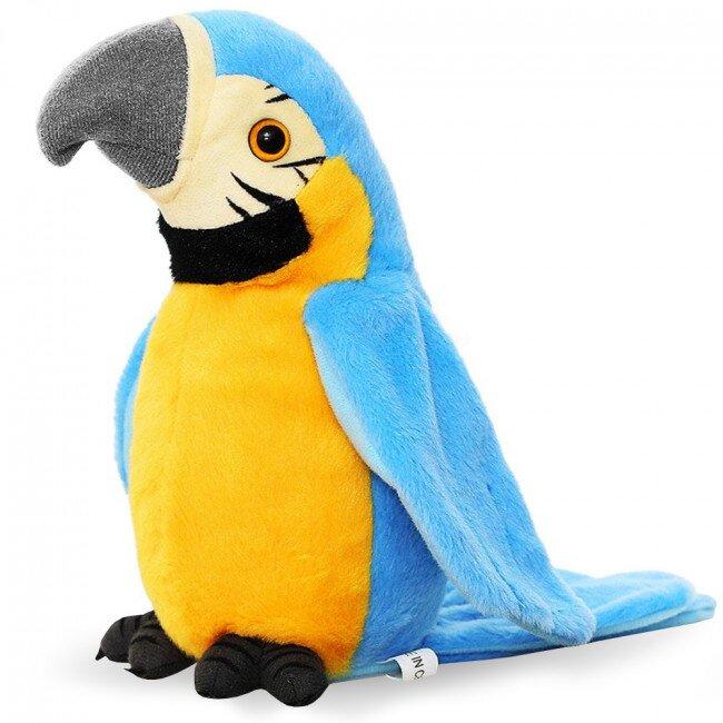 Mluvící papoušek – modrý