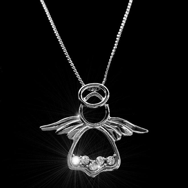 Náhrdelník Anděl se svatozáří