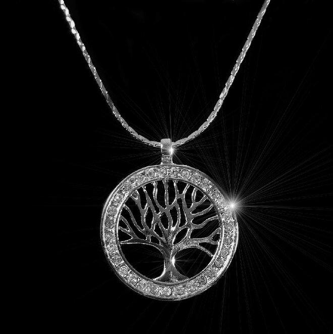 Náhrdelník Strom života v kruhu