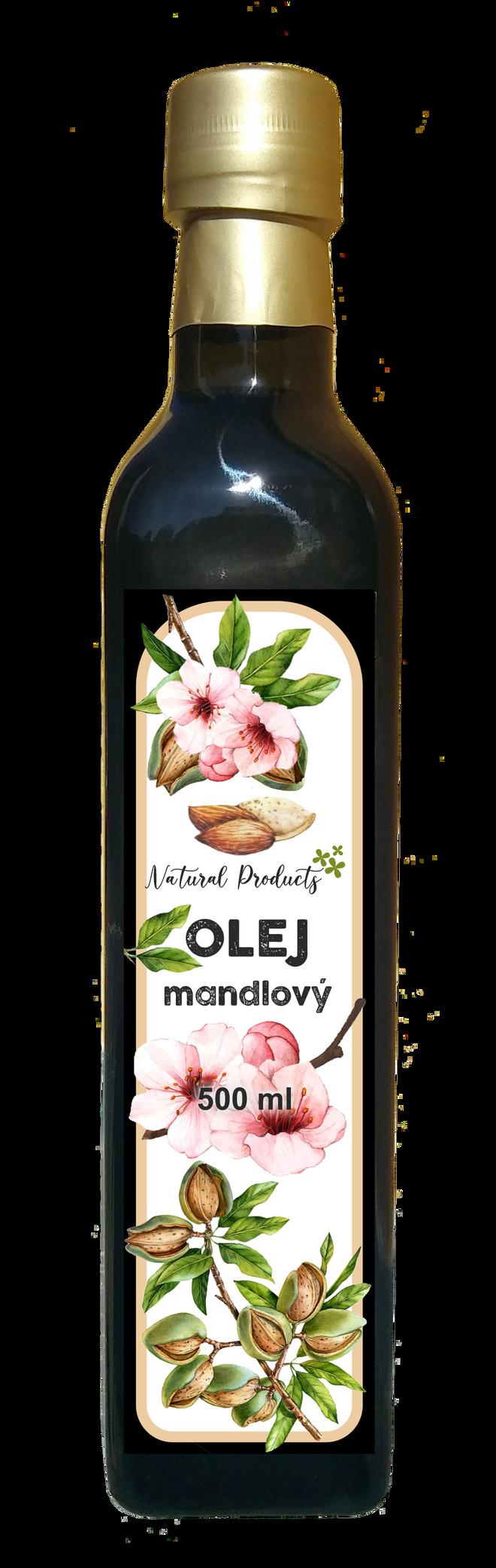 Mandlový olej, 500 ml